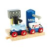 BigJigs Toys Milk and Water Depot Play Set