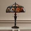 "Rosalind Wheeler 24.6"" H Table Lamp with Bowl Shade"