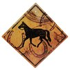 Rivers Edge Horse Crossing Tin Sign Wall Décor