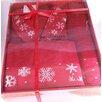 Enchante Home Christmas Bathrobe 3 Piece Towel Set