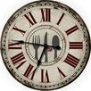 "M Home Decor Country Decor Fork, Knife and Spoon 24.5"" Wall Clock"