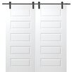 Verona Home Design Rockport Double Barn Door