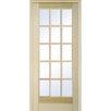 Verona Home Design 15 Lite Prehung Interior French Door