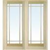 Verona Home Design 9 Lite Prehung Interior French Double Door