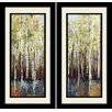 "Star Creations ""Forest Whisper"" by Allison Pearce 2 Piece Framed Painting Print Set"