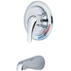 Olympia Faucets Single Handle Wall Mount Tub Trim Set
