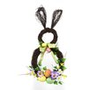 "Teters Floral Spring 22"" Spiral Vine and Carrot Wreath"