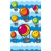 Welspun Spaces HomeBeyond© Hot Air Balloons Area Rug