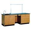 Diversified Woodcrafts 8' Wide Instructor's Desk