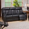 Coja Plymouth Leather Reclining Sofa