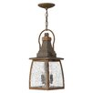 Hinkley Lighting Montauk 2 Light Outdoor Hanging Lantern