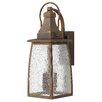 Hinkley Lighting Montauk 3 Light Wall Lantern
