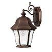 Hinkley Lighting Monticello 1 Light Wall Lantern