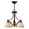 Hinkley Lighting Bolla 3 Light Dinette Chandelier