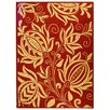 Safavieh Courtyard Red & Natural Area Rug
