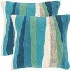 Beachcrest Home Indoor Outdoor Throw Pillow (Set of 2)