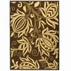 Safavieh Courtyard Chocolate/Natural Outdoor Area Rug