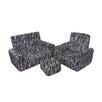 Fun Furnishings 2 Piece Kids Sofa Chair and Ottoman Set