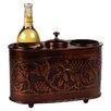 Old Dutch International Antique Embossed 2 Bottle Wine Chiller
