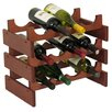 Wooden Mallet Dakota 12 Bottle Wine Rack