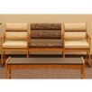 Wooden Mallet Valley Series Bariatric Three Seater