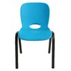 Lifetime Armeless Contemporary Childrens Stacking Chair (Set of 4)
