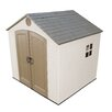 Lifetime 8 Ft. W x 7 Ft. D Plastic Storage Shed