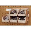 Quantum Storage Plastic Rail Set with Hang-n-Stack Bins