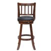 "Boraam Industries Inc Bloomington 24"" Swivel Bar Stool with Cushion"