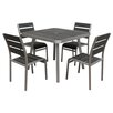 Boraam Industries Inc Fresca 5 Piece Dining Set
