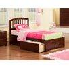 Atlantic Furniture Richmond Twin XL Platform Bed with Storage