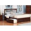 Atlantic Furniture Mission Storage Slat Bed