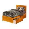 Atlantic Furniture Nantucket Flat Panel Bed