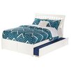 Atlantic Furniture Orleans Flat Panel Footboard with Urban Trundle Bed