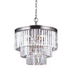 Sea Gull Lighting Carondelet 4 Light Crystal Chandelier