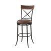"Linon 30"" Swivel Bar Stool with Cushion"