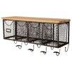 Linon 4 Basket Wall Organizer Shelf II