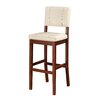 "Linon Milano 30"" Bar Stool with Cushion"