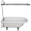 "Barclay 67"" x 29.5"" Soaking Bathtub Kit"