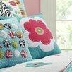 Amity Home Abby/Jane Flower Decorative Cotton Throw Pillow