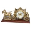 Rhythm U.S.A Inc The Buggy Mantel Clock