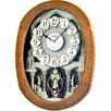 Rhythm U.S.A Inc Joyful Encore Melody Wall Clock