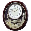 Rhythm U.S.A Inc Joyful Land Wall Clock