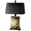 """Uttermost Marius 29"""" H Table Lamp with Rectangular Shade"""