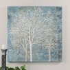 Uttermost Muted Silhouette Original Painting on Canvas