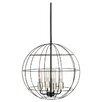 Peri 4 Light Globe Pendant