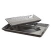Uttermost Alanna Tray Set in Matte Black (Set of 2)