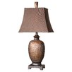 "Uttermost Amarion 33"" H Table Lamp with Bell Shade"