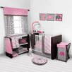 Bacati Elephants 10 Piece Crib Bedding Set