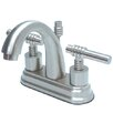 Elements of Design Milano Centerset Bathroom Faucet with Double Lever Handles